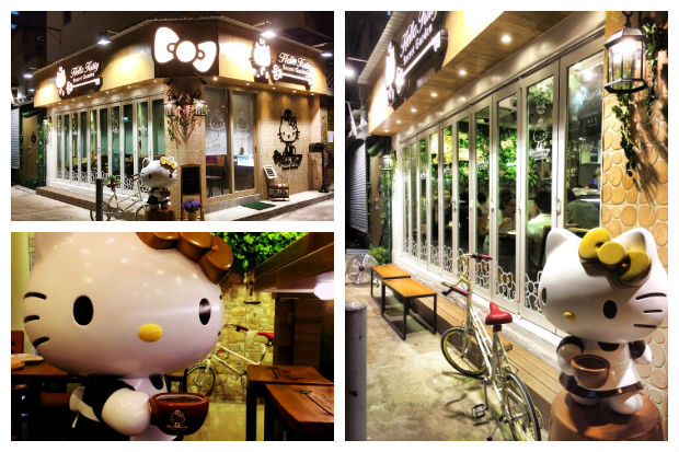 Hello Kitty Secret Garden Cafe Hong Kong