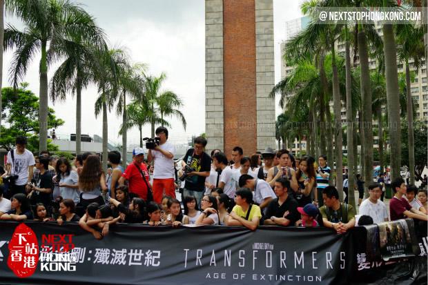 《变形金刚4》香港文化中心全球首映式