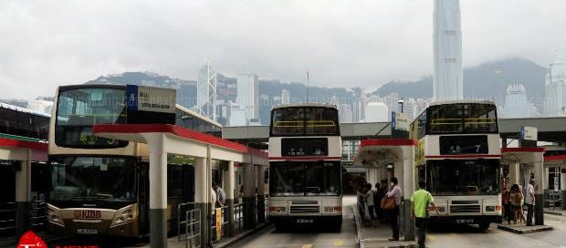 KMB Bus Terminal in TST
