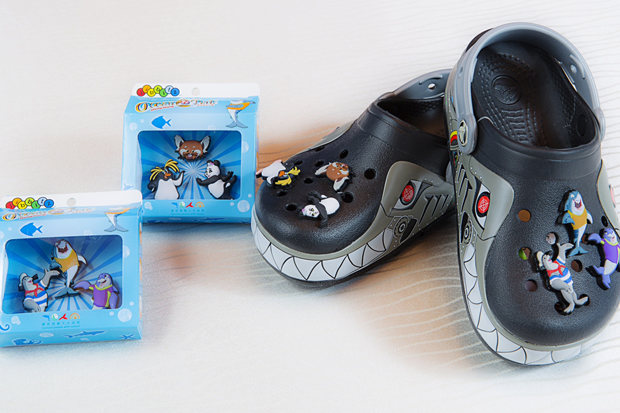Ocean Park Hong Kong x Crocs limited edition Jibbitz Set