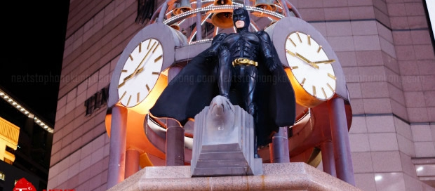 Time Square Batman 75 Anniversary
