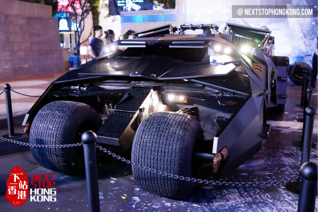 Batmobile Tumbler - Batman 75th Anniversary Exhibition 2014 @ Times Square
