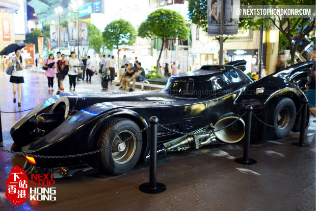 Batman Car from 1989 Movie - Batman 75th Anniversary Exhibition 2014 @ Times Square
