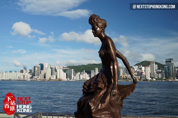 Anita Mui's Statue Revealed at Avenue of Stars Hong Kong
