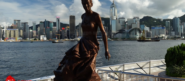 Anita Mui Stature Avenue of Stars Hong Kong