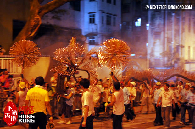 Tai Hang Fire Dragon Dance 2013 Mid-Autumn Festival Hong Kong