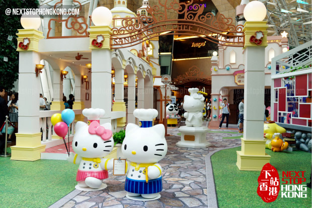 "Langham Place ""Hello Kitty - Star Chef Institute"" Exhibition 2014"