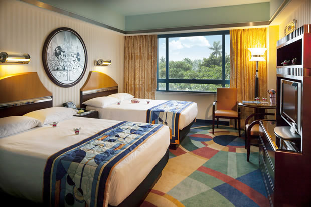 Garden View Room in Disney's Hollywood Hotel