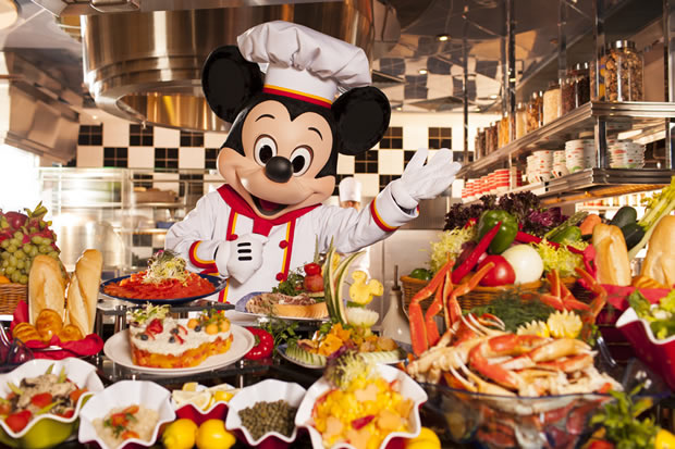 Chef Mickey Restaurant in Disney's Hollywood Hotel