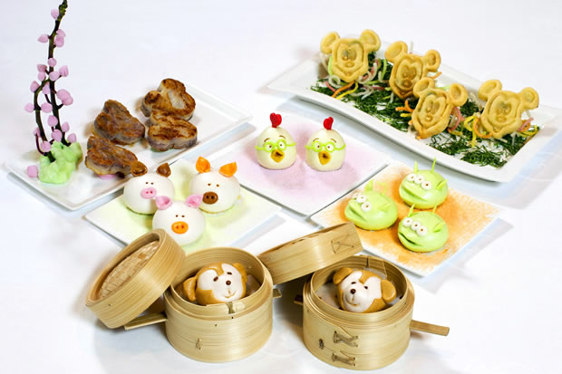 Cute Disney Food in Crystal Lotus