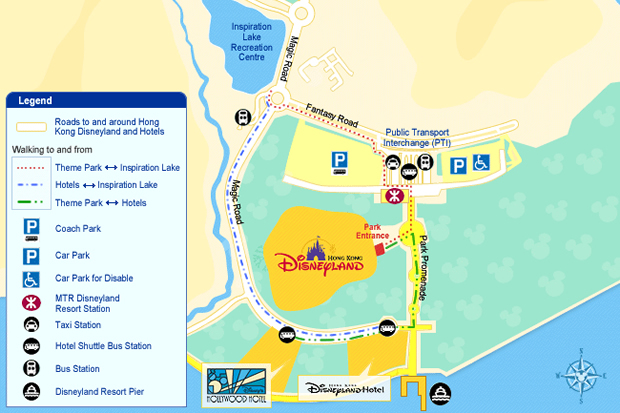 Shuttle Bus for Disneyland Hotels