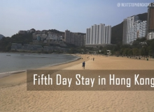 Fifth Day Stay Hong Kong