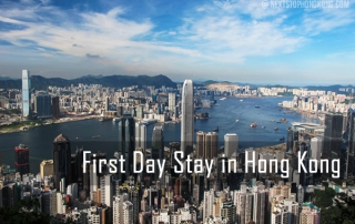First Day Stay Hong Kong