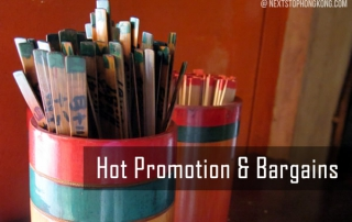 Hot Promotion and Bargains in Hong Kong