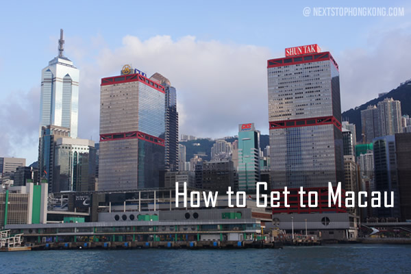 How to Get to Macau