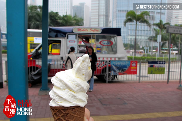 Delicious Soft Ice-cream from Mobile Softee