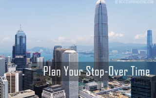 Plan Stop Over Time Hong Kong