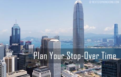 Plan Stop Over Time Hong Kong