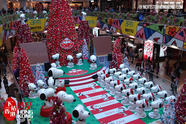 Snoopy 65th Anniversary Christmas Exhibition 2014