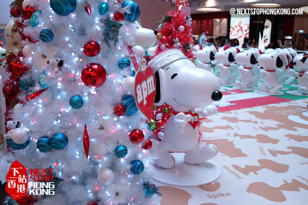 Snoopy apm Hong Kong Christmas 2014