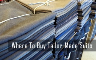 Where to Make Tailor Made Shirt in Hong Kong