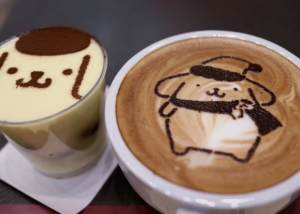 Leonidas Pom Pom Purin Pop-Up Cafe