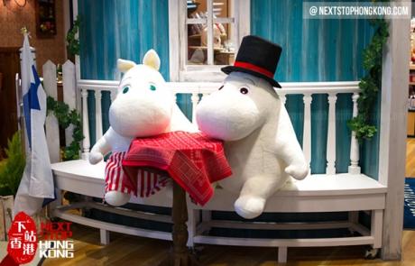 Moomin Bakery Cafe Hong Kong
