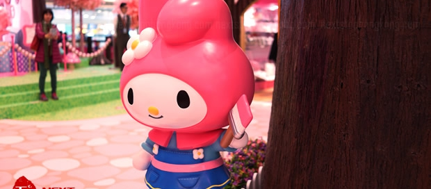 My Melody Christmas Exhibition tmtplaza