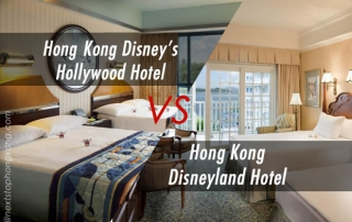 Disneyland Hotel and Disney's Hollywood Hotel