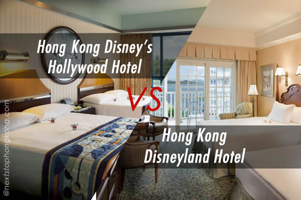 Hong Kong Disneyland Hotel vs. Disney's Hollywood Hotel – A Review Comparison