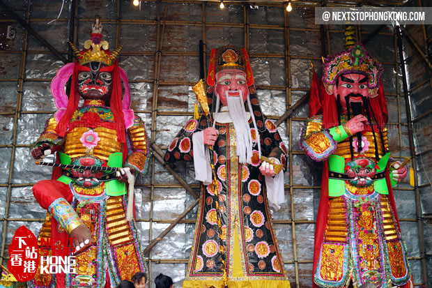 Bun Festival Temple
