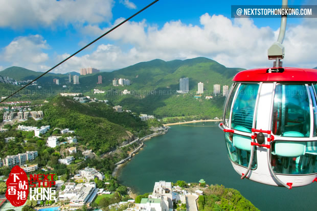 Cable Car in Hong Kong Ocean Park