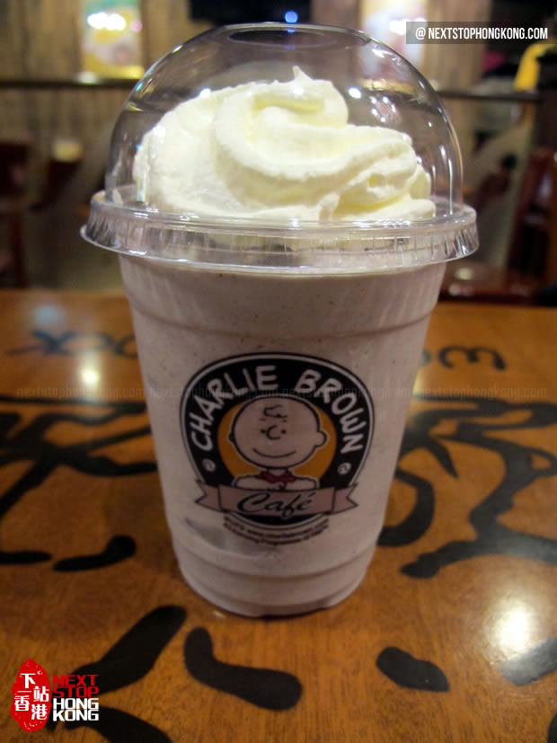 Charlie Chocolate Chip Frappa from Charlie Brown Café