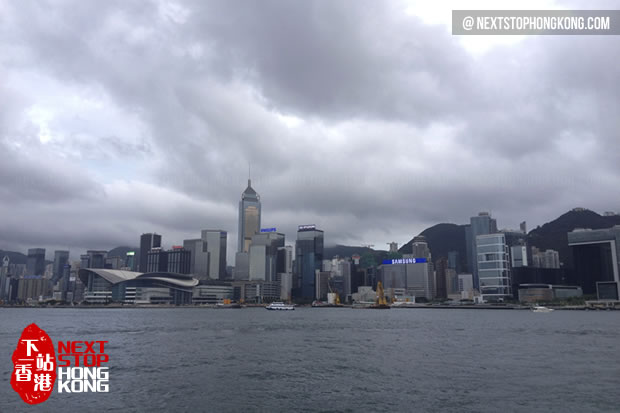 Cloudy day in Hong Kong