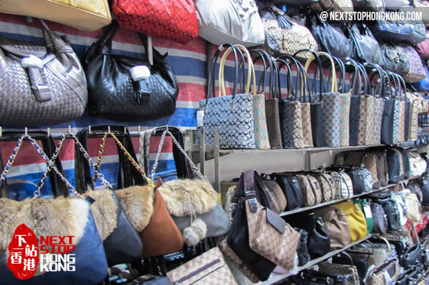 Handbags on Ladies Market