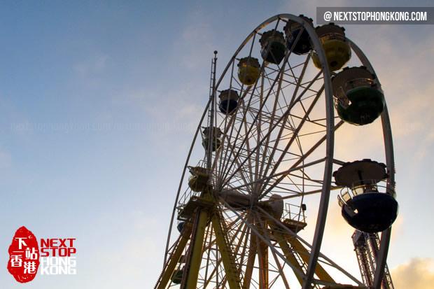 Ferris Wheel Under Sunset (the Summit, Ocean Park)