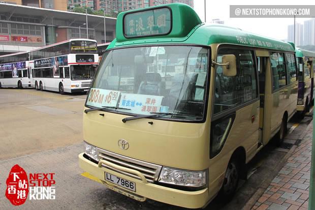 Green Minibus 308M
