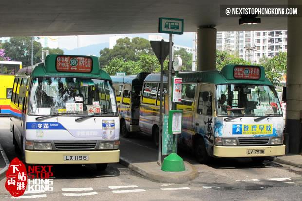 Green Minibus