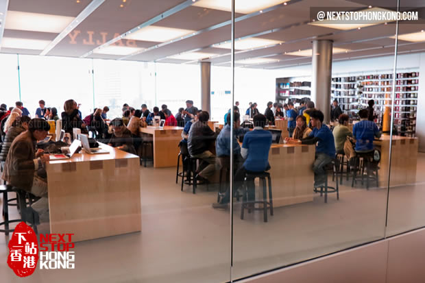 Apple Flagship Store in IFC