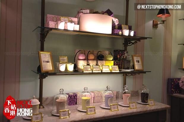 Inside Ladurée Store