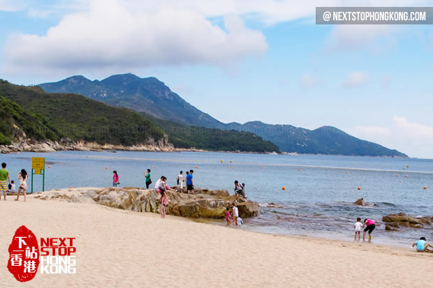 Beach of Lamma Island