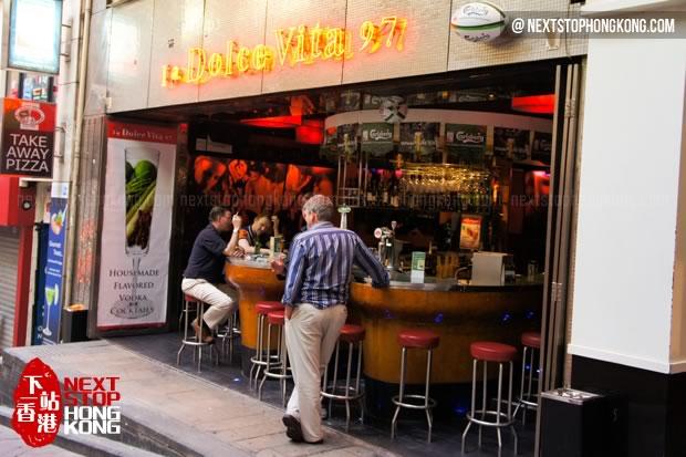 蘭桂坊的酒吧