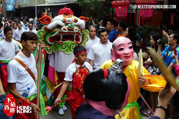 Bun Festival Lion Dance