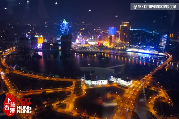 Night View from Macau Tower