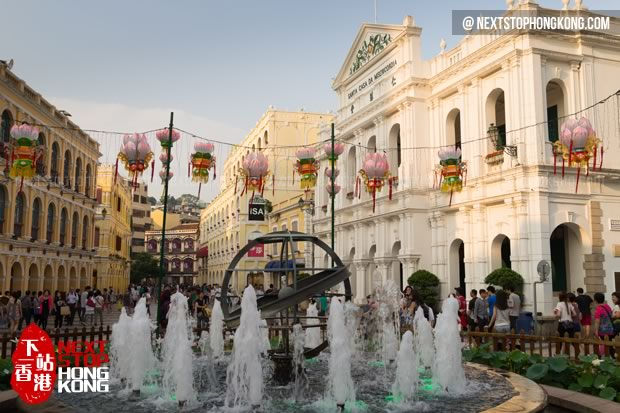 Senado Square - Macau Attractions