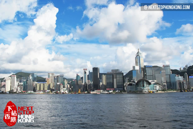 Day View of Victoria Harbour
