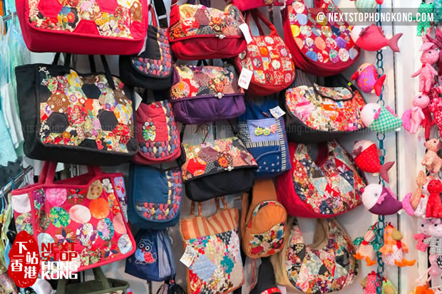 Bags on Stanley Market