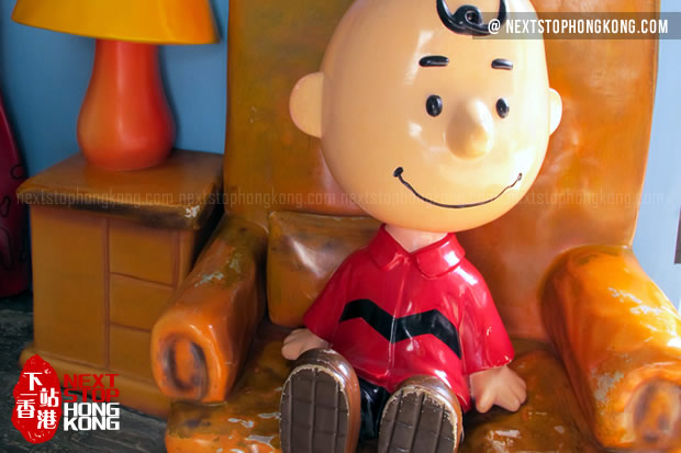 Charlie Brown in Doghouse of Snoopy's World