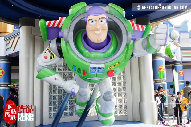 Buzz Lightyear Astro Blasters (Tomorrowland, Disneyland)