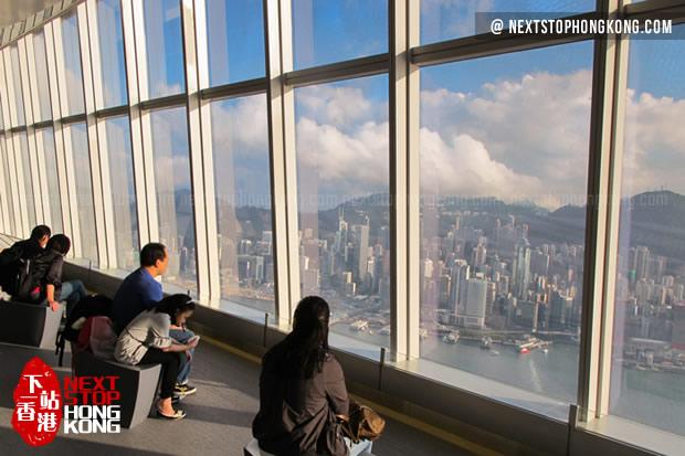 Hong Kong Sky100 In Icc Highest Indoor Observation Deck